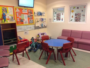 Manchester Cleft Waiting Room
